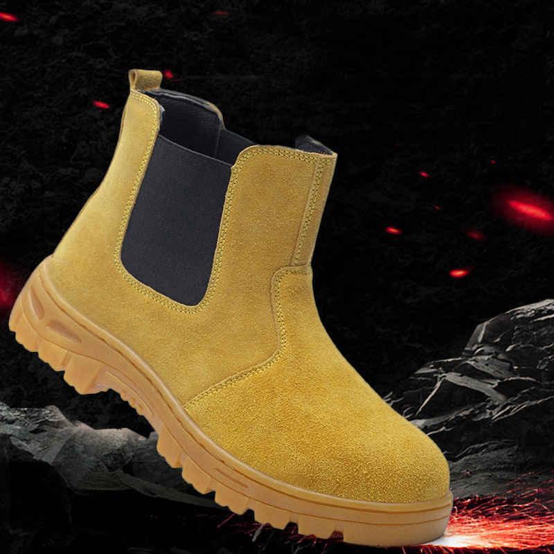 shoes Work <font><b>boots</b></font> cap Anti-smashing Protection Footwear Shoes