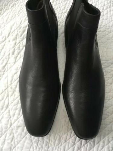 Calvin Klein Size M Leather Ankle Boots Shoes