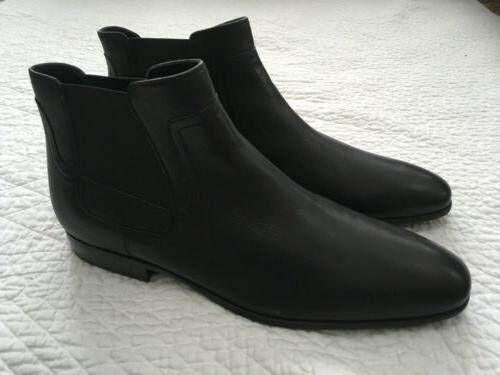 size 11 m clarke leather black ankle