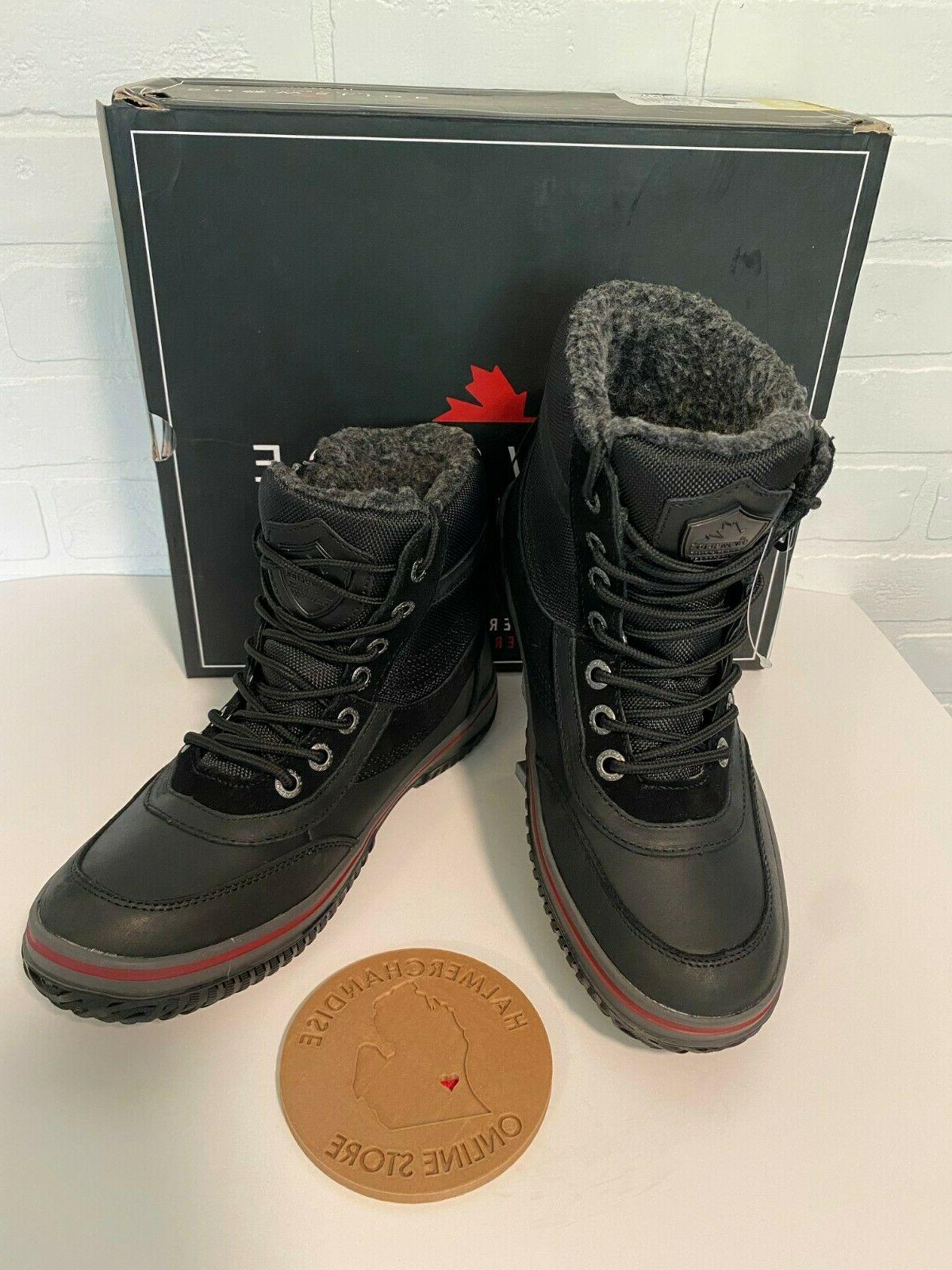 Pajar Waterproof Boots -22F BLACK NEW