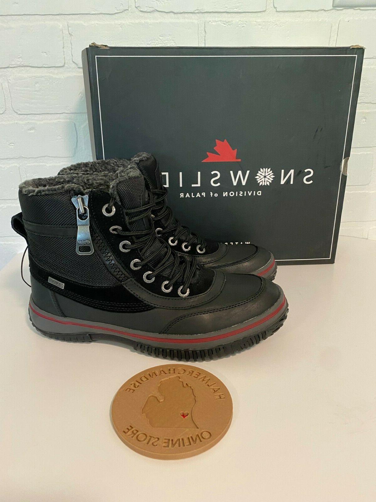 snowslide gearson men s waterproof leather nylon