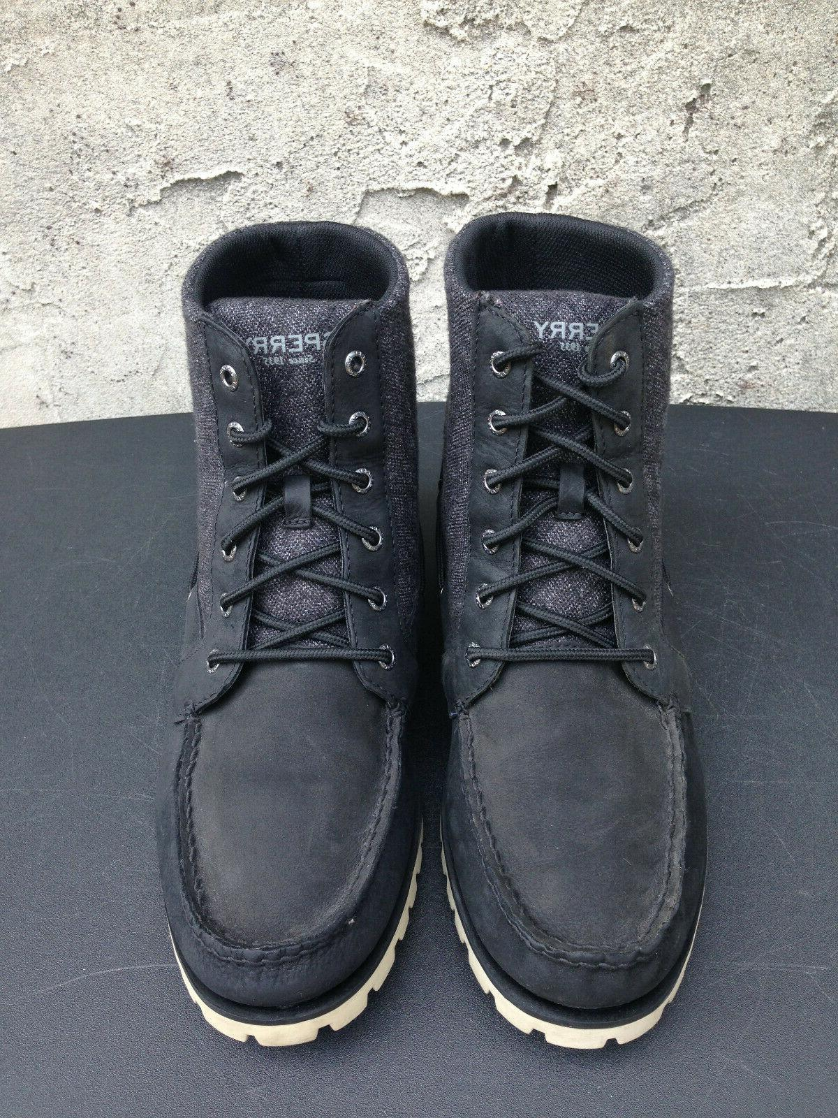 Sperry Carson Leather/Canvas Men's