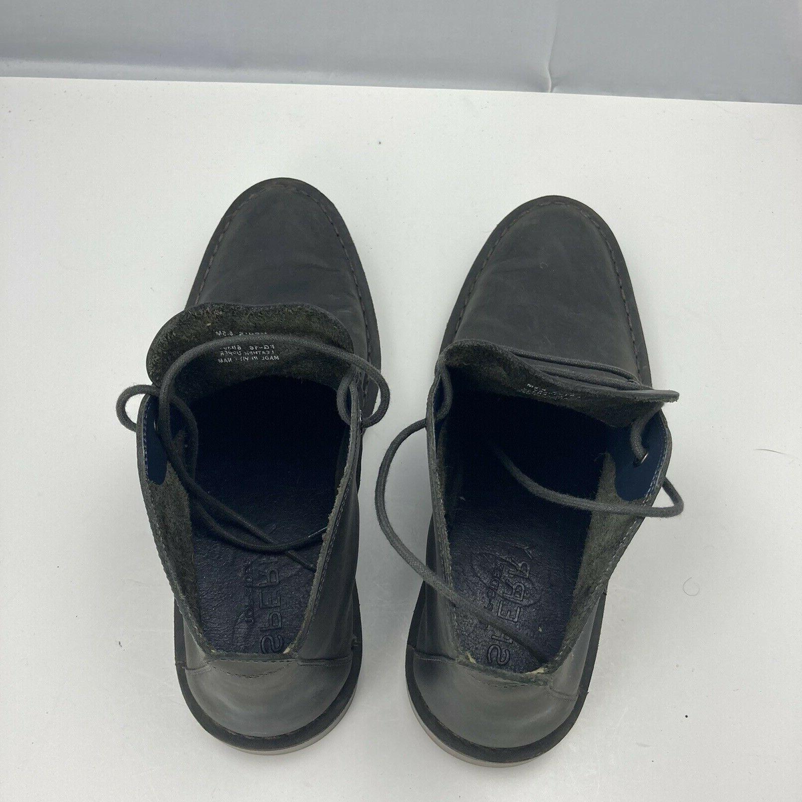 SPERRY Top Chukka Boots Aged Lace Ankle Mens