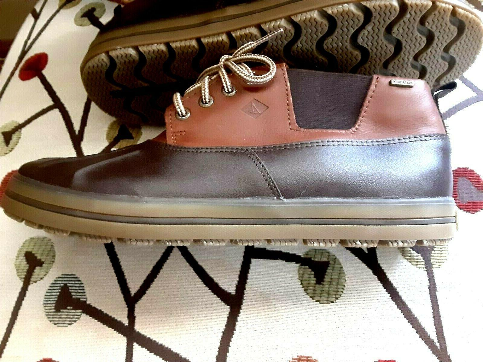 SPERRY WEATHER Leather Chukka NEW