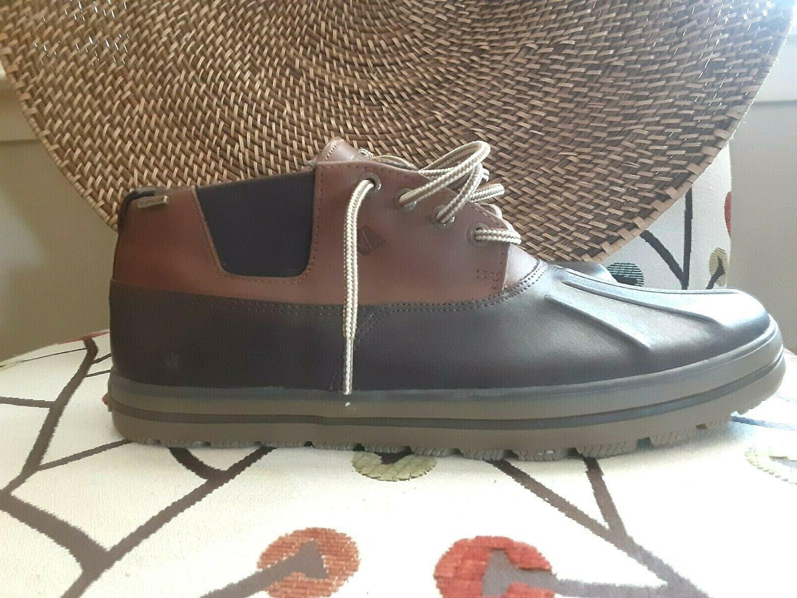 SPERRY WEATHER Leather Nubuck Chukka