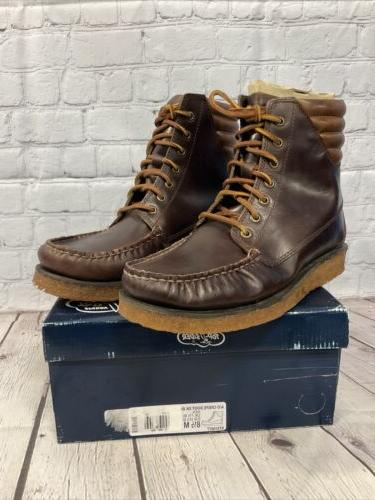 Sperry Crepe Boots Size 8.5 New Box
