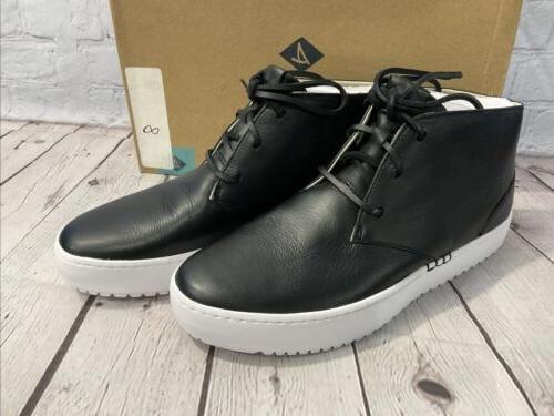 Sperry Men's Leather Chukka 8 Black New Box