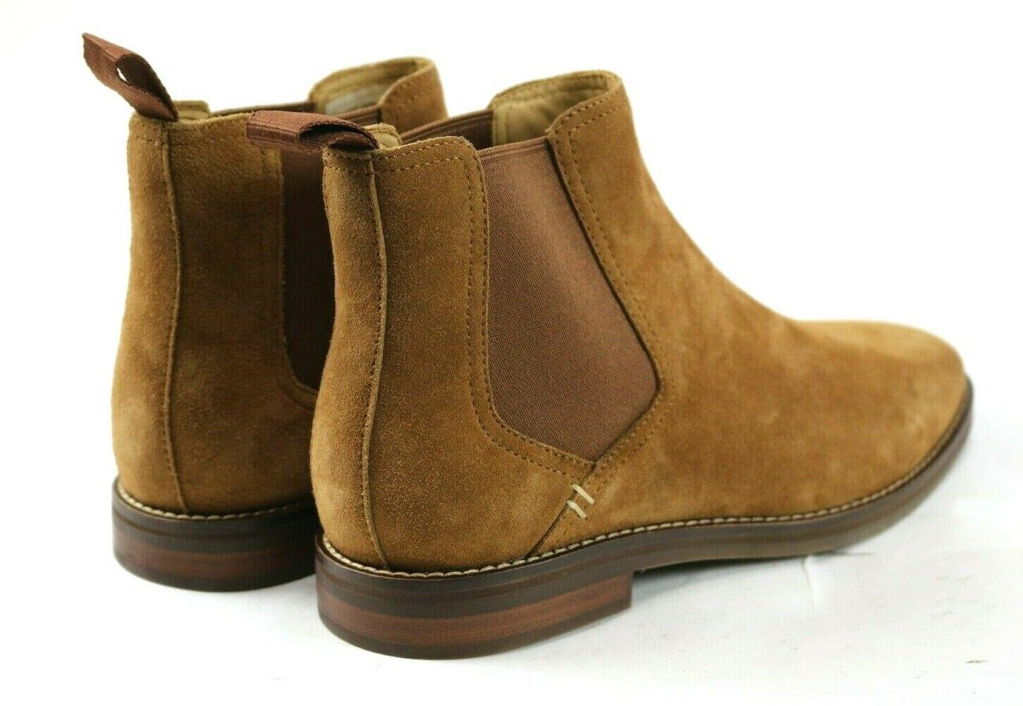 Sperry Gold Chelsea Boots Wide