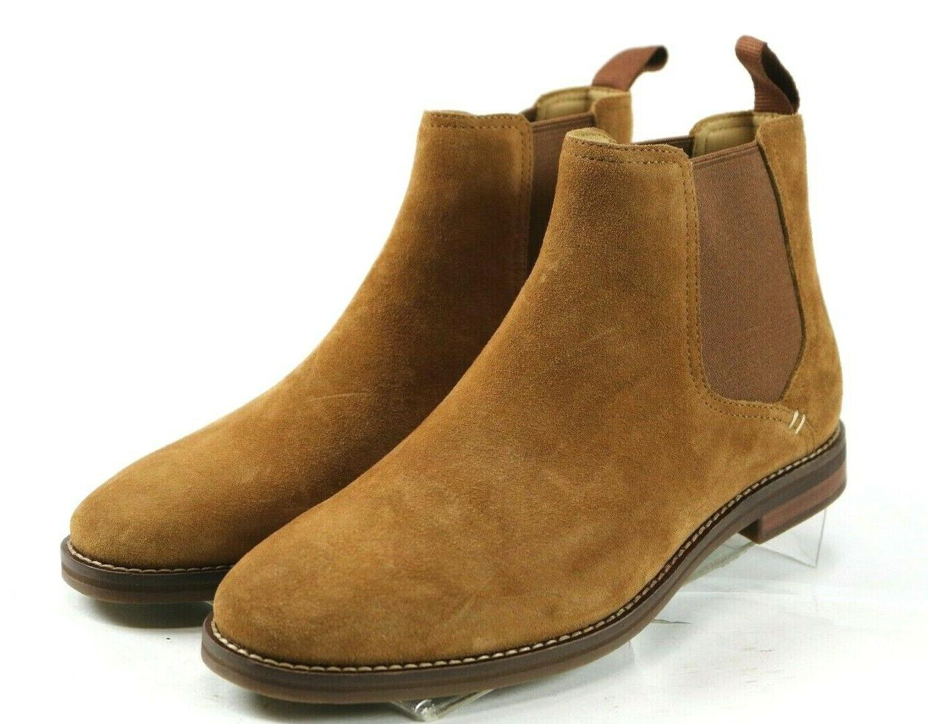 Sperry Top Gold Chelsea Boots 8 Wide