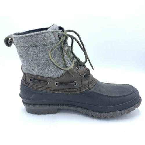 SPERRY SIDER Wool Top BOOTS STS13461 SIZE 9.5M