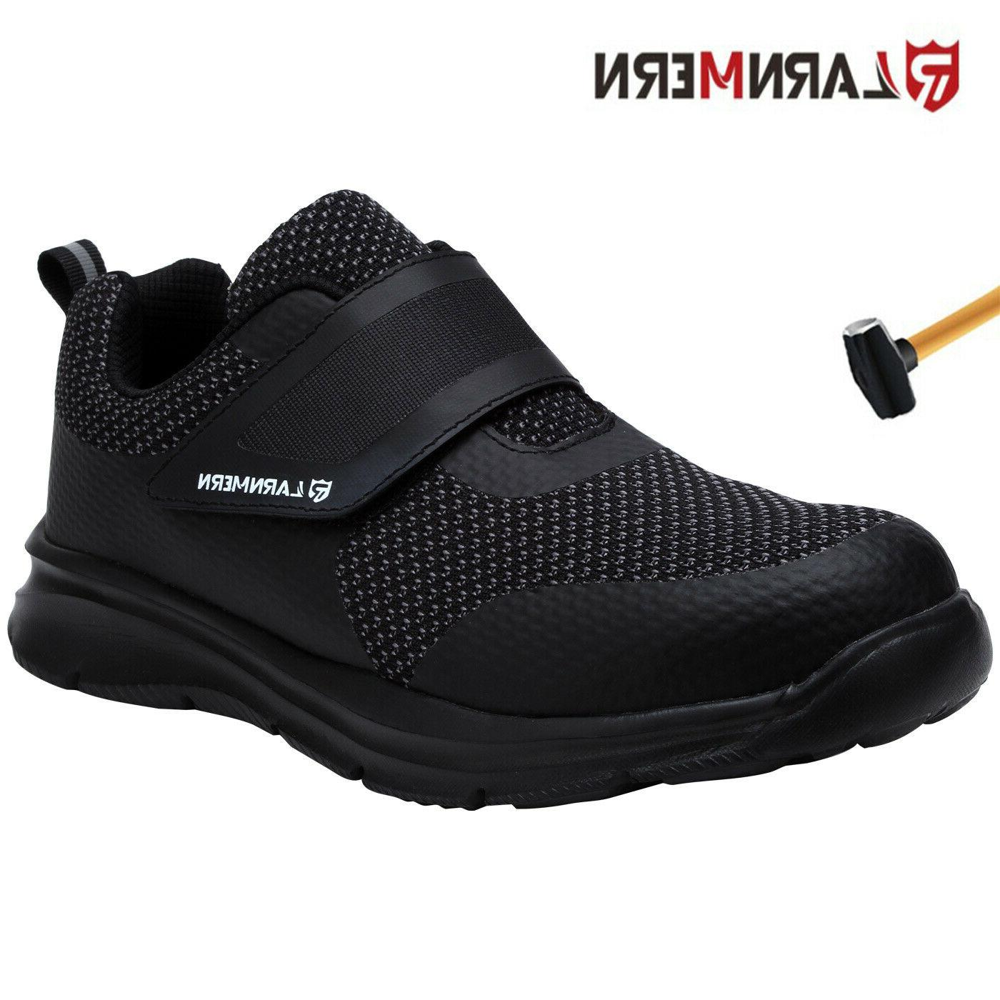 steel toe boots for men work puncture