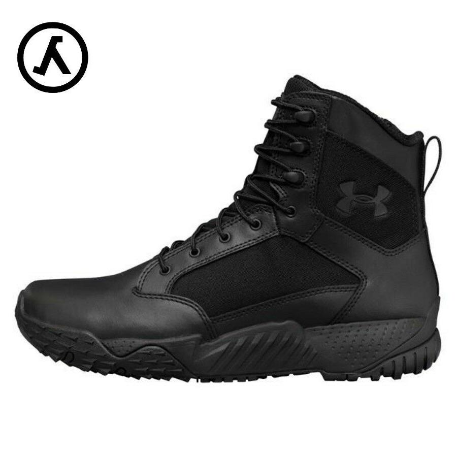 stellar tactical side zip boots 1303129 black