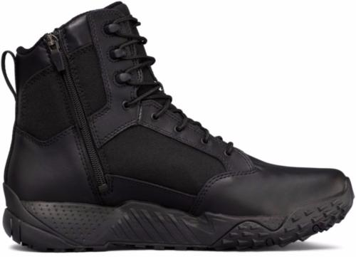 "Under Armour Storm 8"" Stellar Tactical Side Zip Boots Men's"