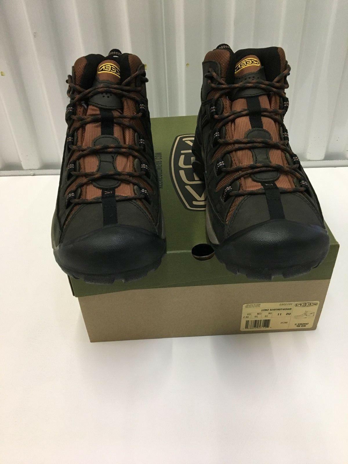 Keen II Waterproof Hiking Boots Raven/Tortois