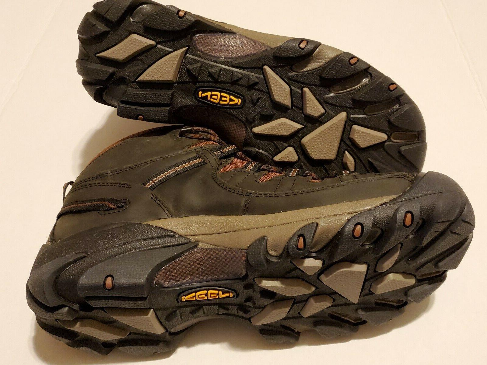 Keen Mid WP Boot Raven/Tortoise MEN'S