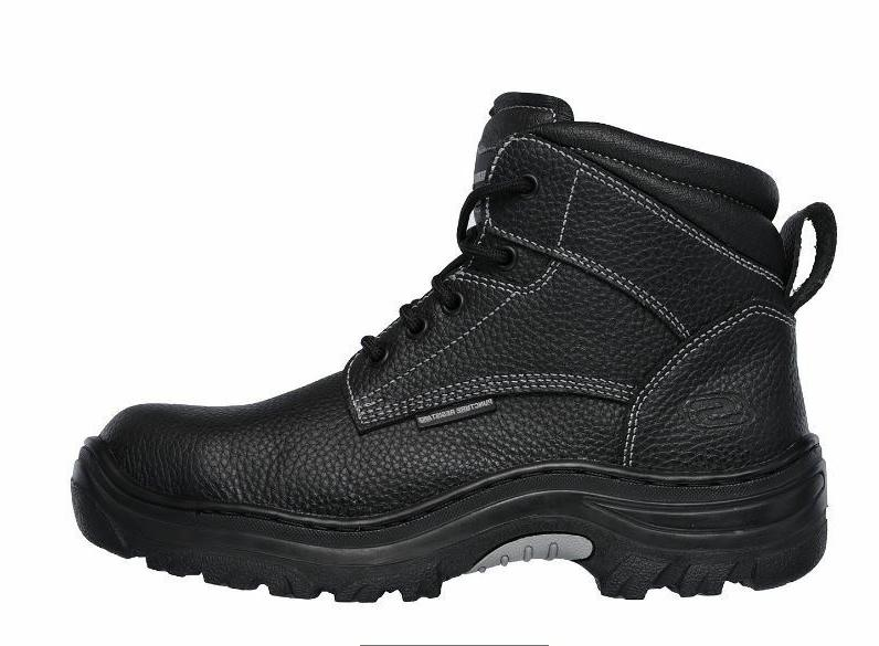 Skechers Tarlac Men's Black Steel Toe EH Puncture Resistant