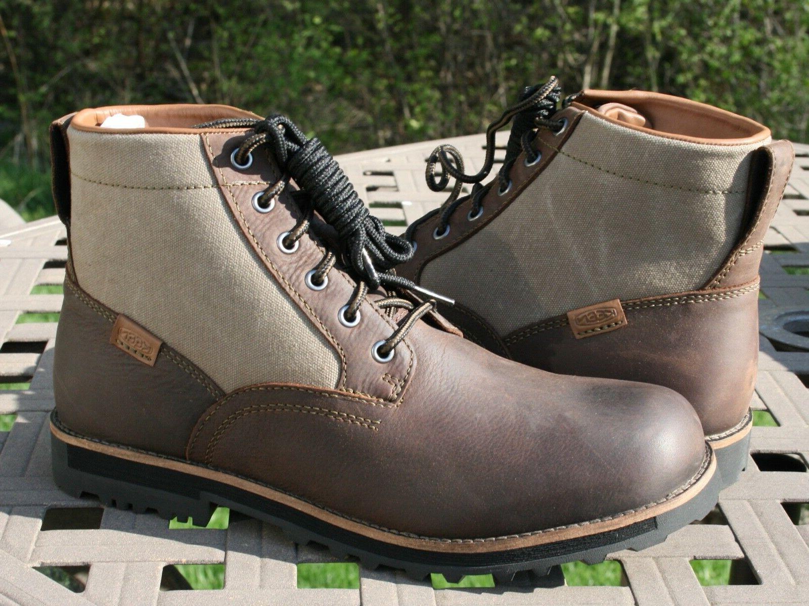 KEEN THE 59 US 11.5 EU 45 Men's Hiking Trail Boot Brown