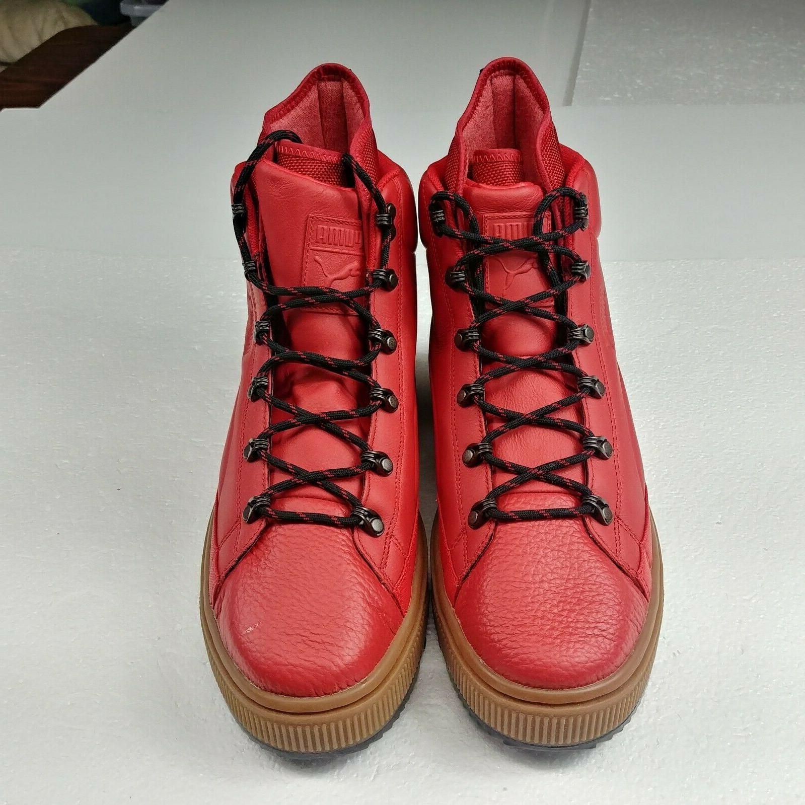 Puma The Ren Waterproof Boots Barbados Cherry Red