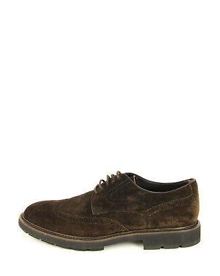 Tod's Leather Oxfords Sneakers, MORO XXM46A00C10RE0S800