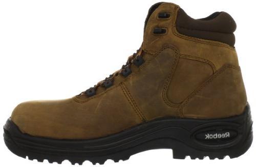Reebok Work Boot,Brown,6 W