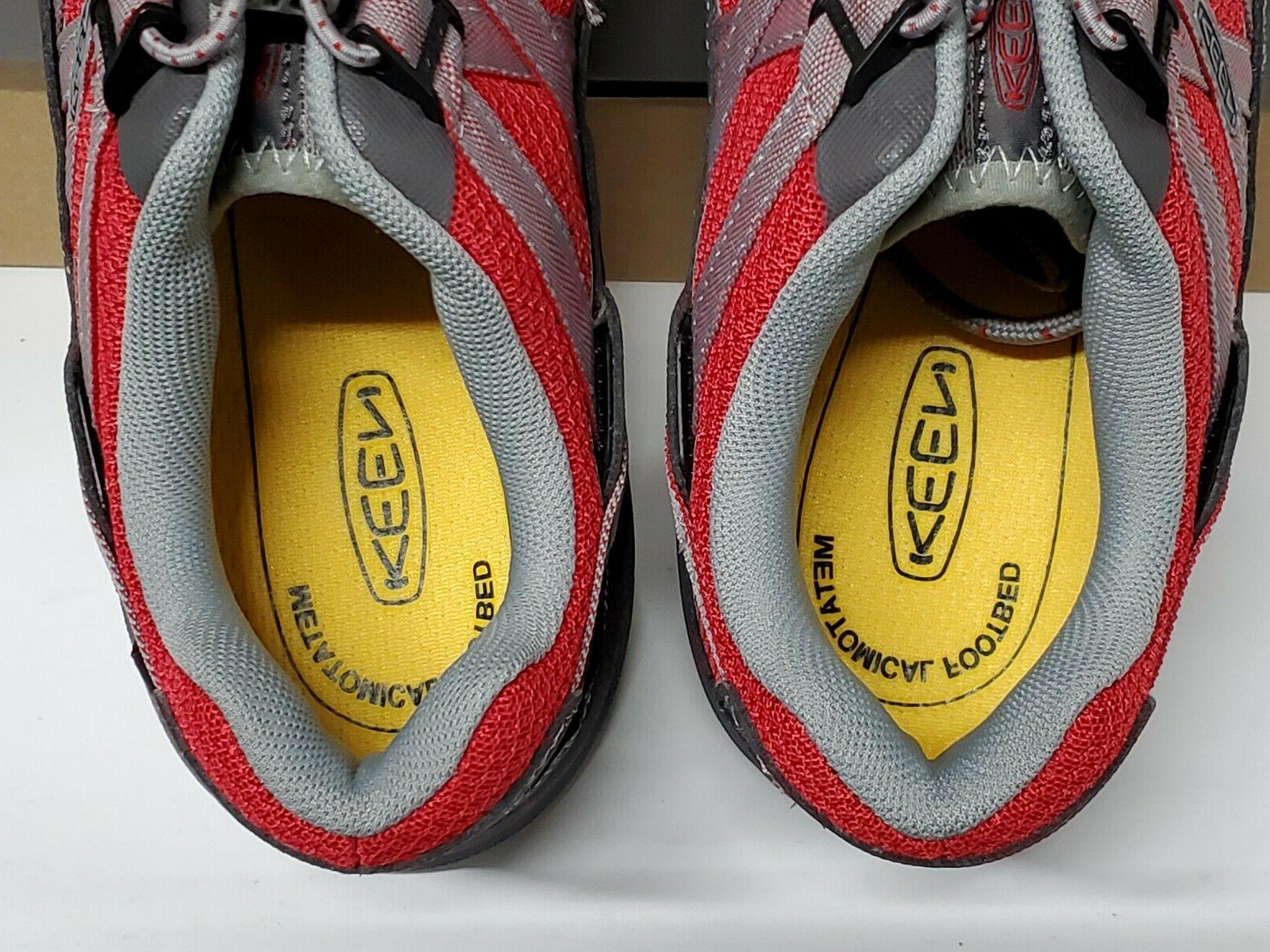 KEEN Utility Asheville Toe Magnet/Red