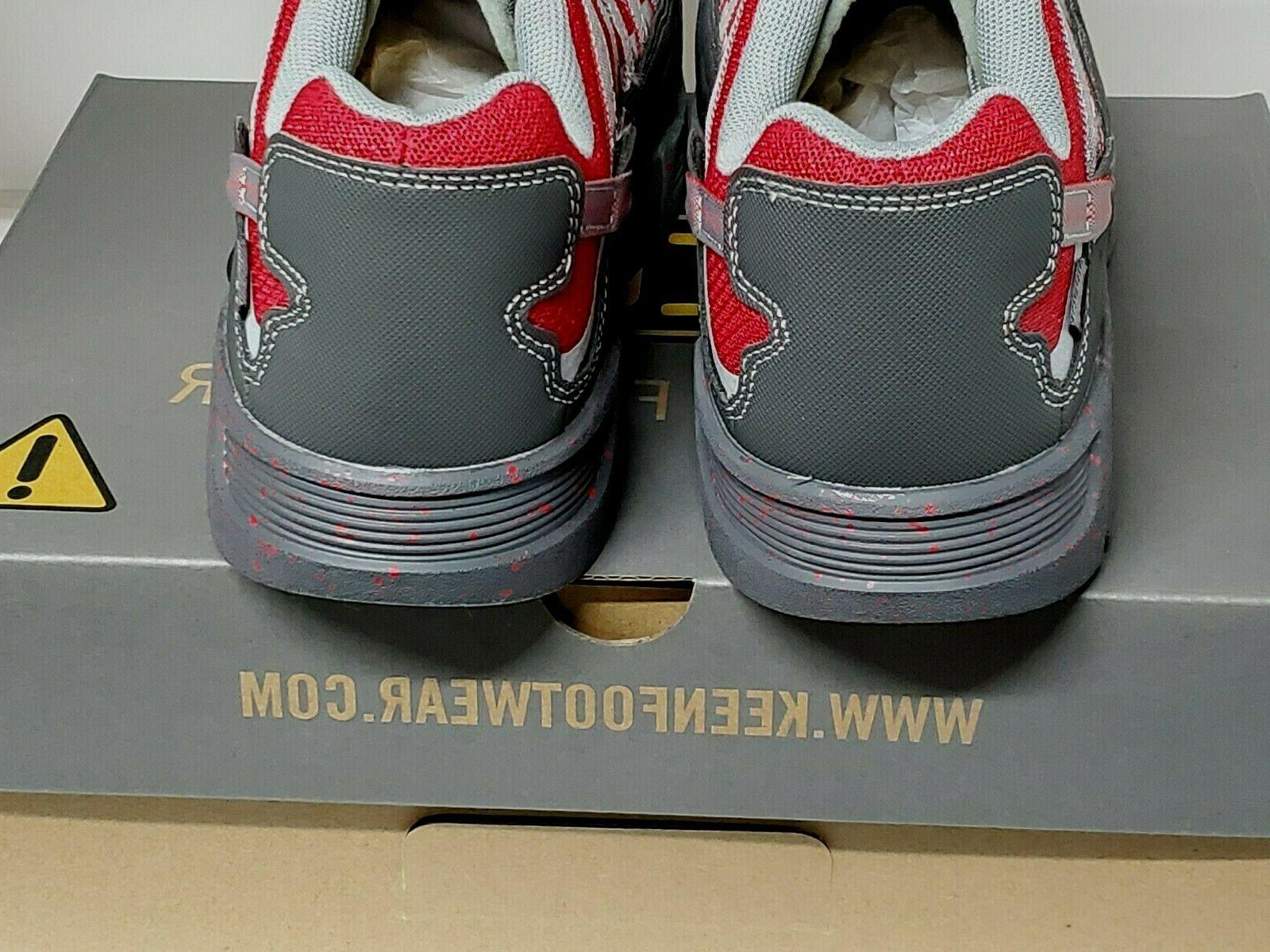 KEEN Utility Asheville Toe Magnet/Red SIZES
