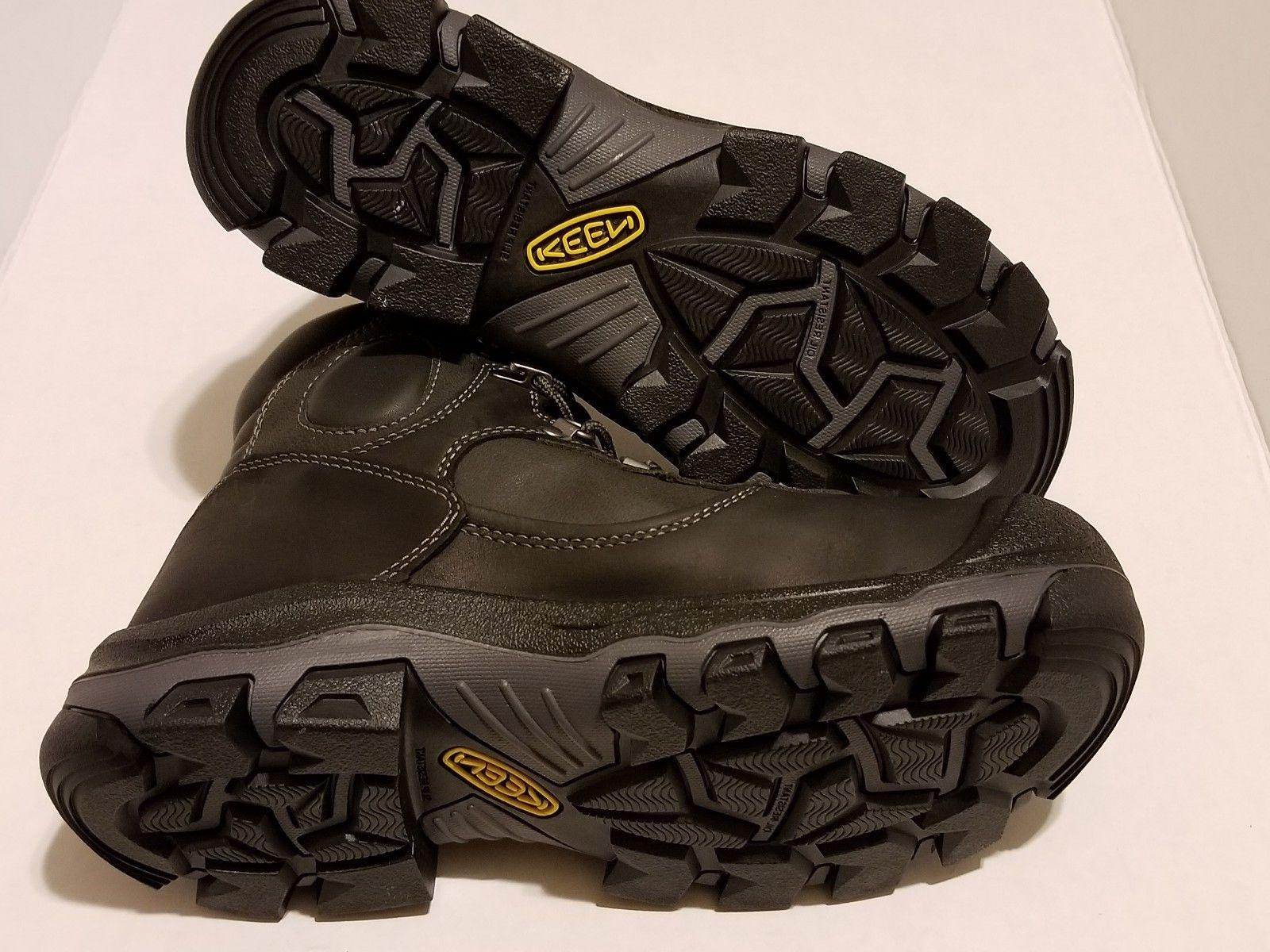 "Keen Utility 6"" Met - Men D Black"