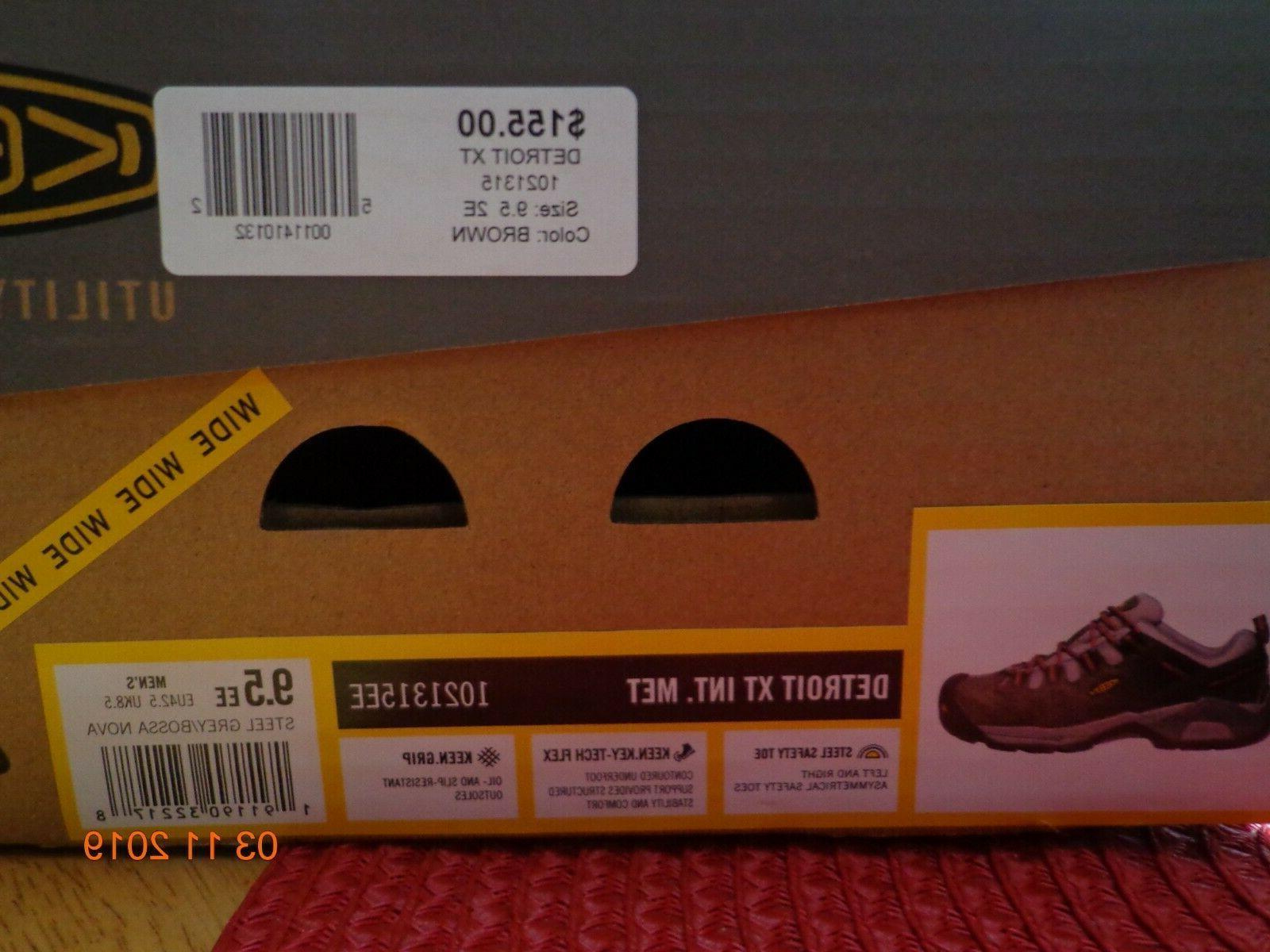 KEEN Men's Detroit Toe Boots 9.5