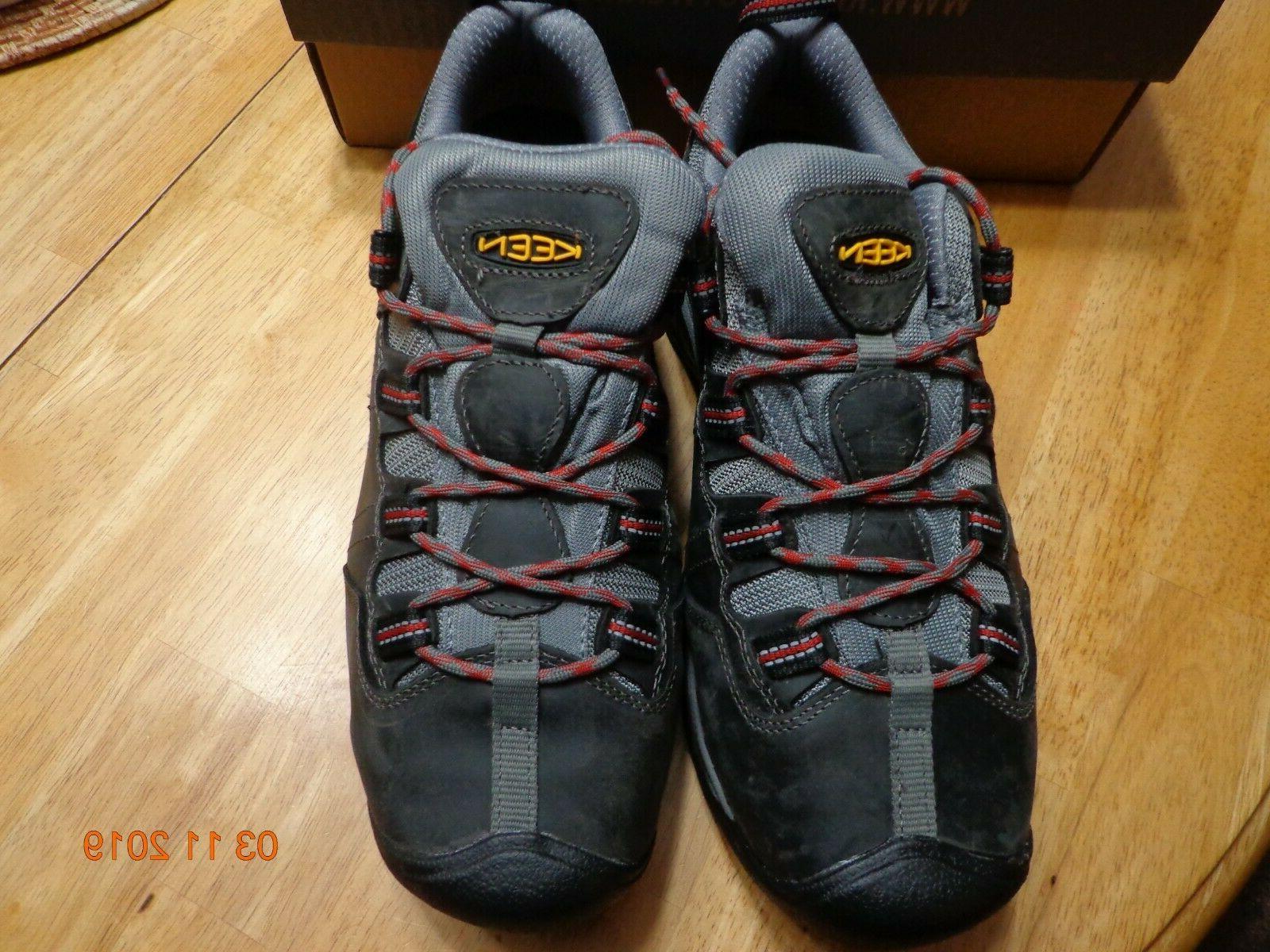 KEEN UTILITY Detroit Nova Toe Work Boots 9.5
