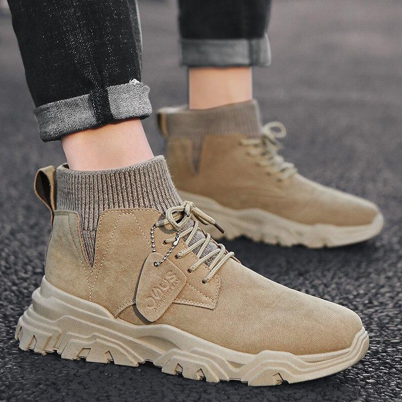 VastWave Warm <font><b>Boots</b></font> <font><b>Leather</b></font> <font><b>Boots</b></font> Winter Shoes <font><b>Men</b></font> Snow <font><b>Boots</b></font> Botas