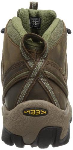 KEEN Mid Hiking Boot,Raven/Tawny Olive,17 US