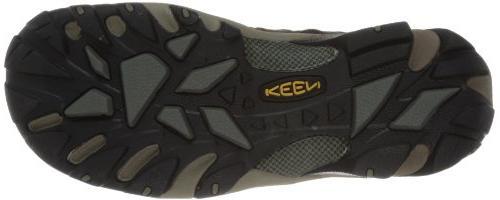 KEEN Men's Voyageur Mid Hiking Boot,Raven/Tawny US
