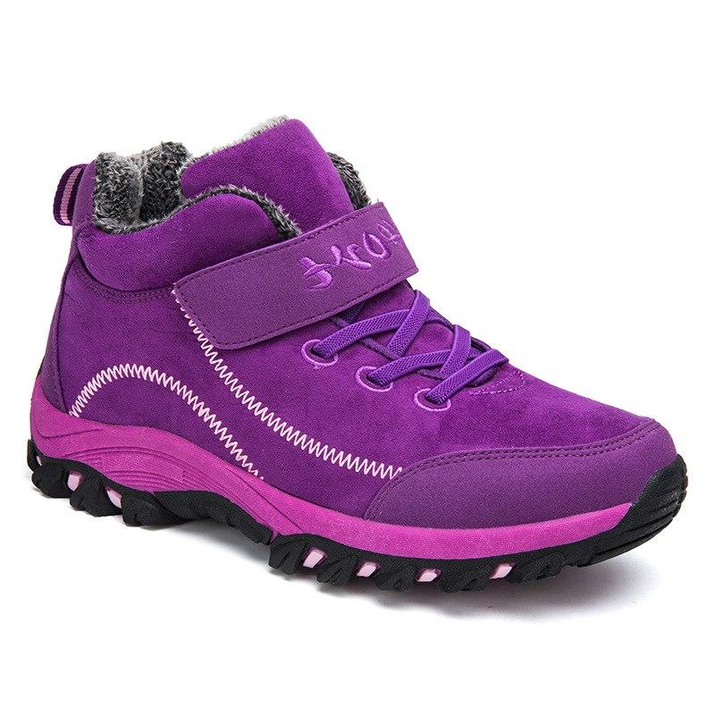Waterproof with Snow Women <font><b>Work</b></font> Casual Sneakers High Ankle <font><b>Boots</b></font>