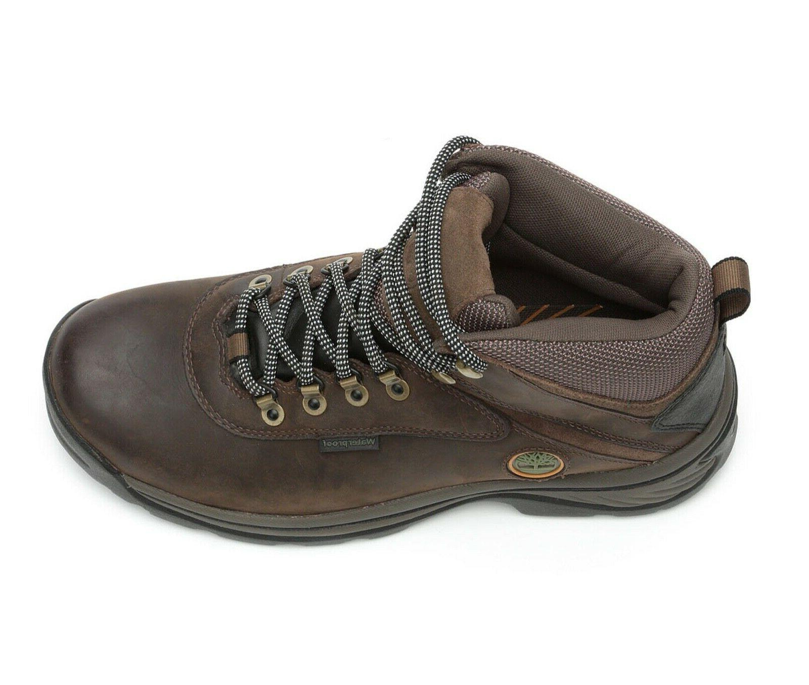 Timberland White Ledge Brown Leather Hiking 12135214 SIZES