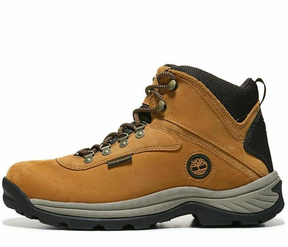 white ledge waterproof wheat nubuck hiking boots