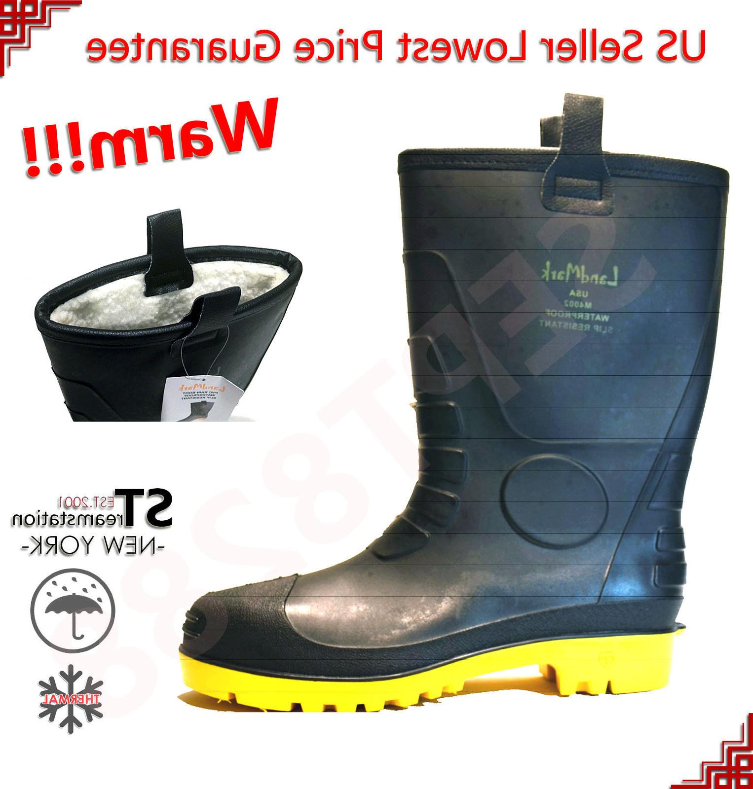 winter snow rain boots men water shoes