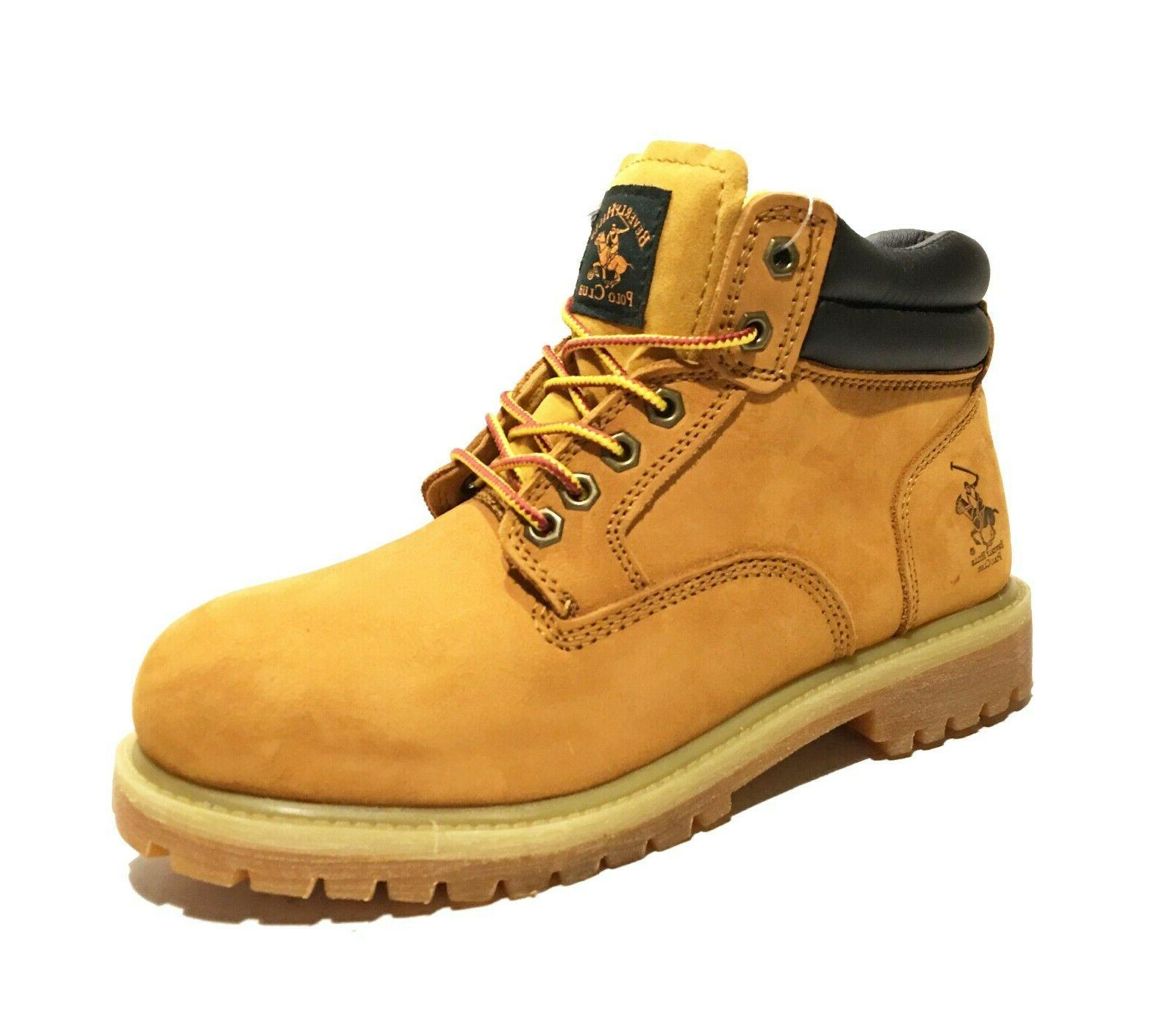 Mens Snow Boots Shoes Leather Waterproof 2016