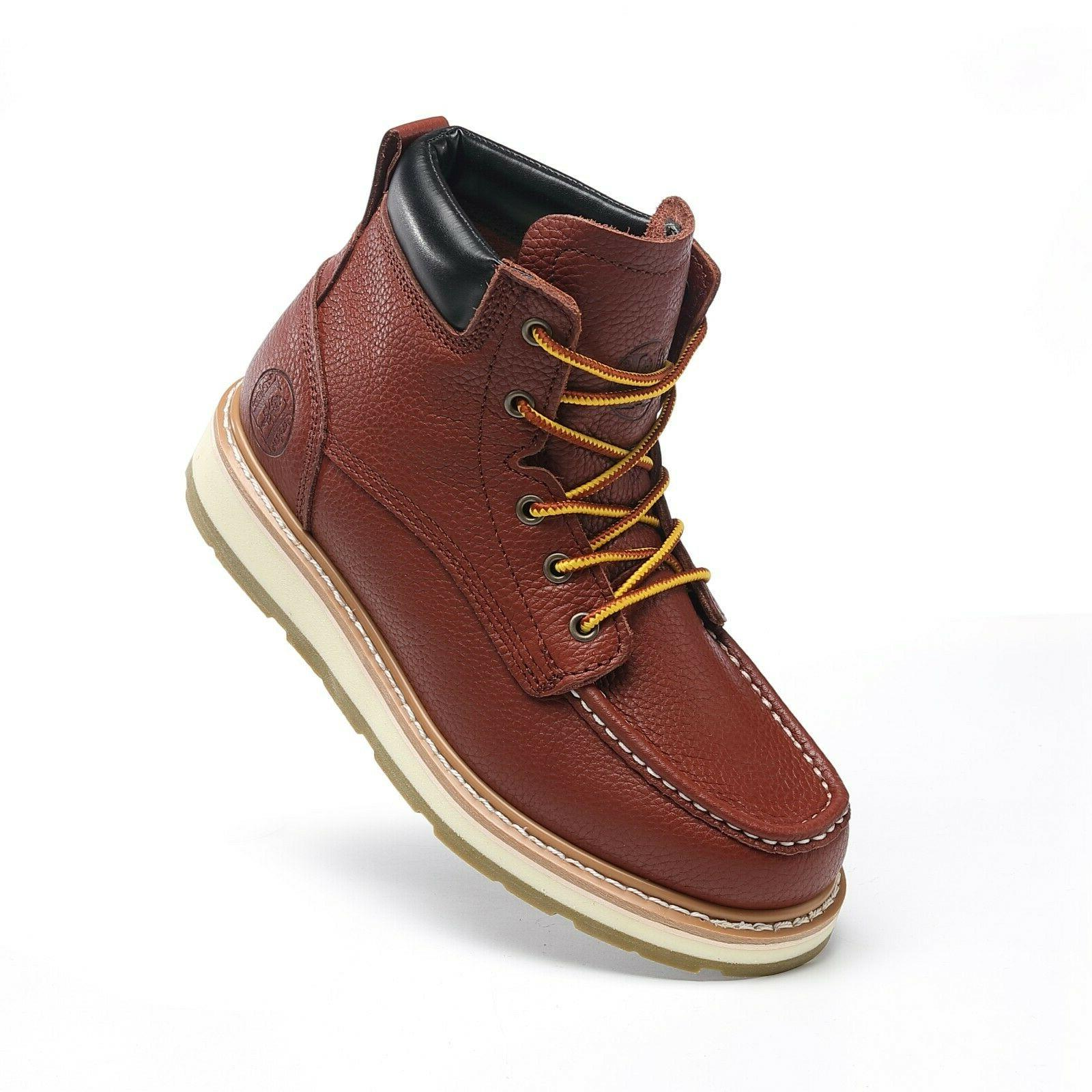 Work Boots Men Soft/CT Working Shoes