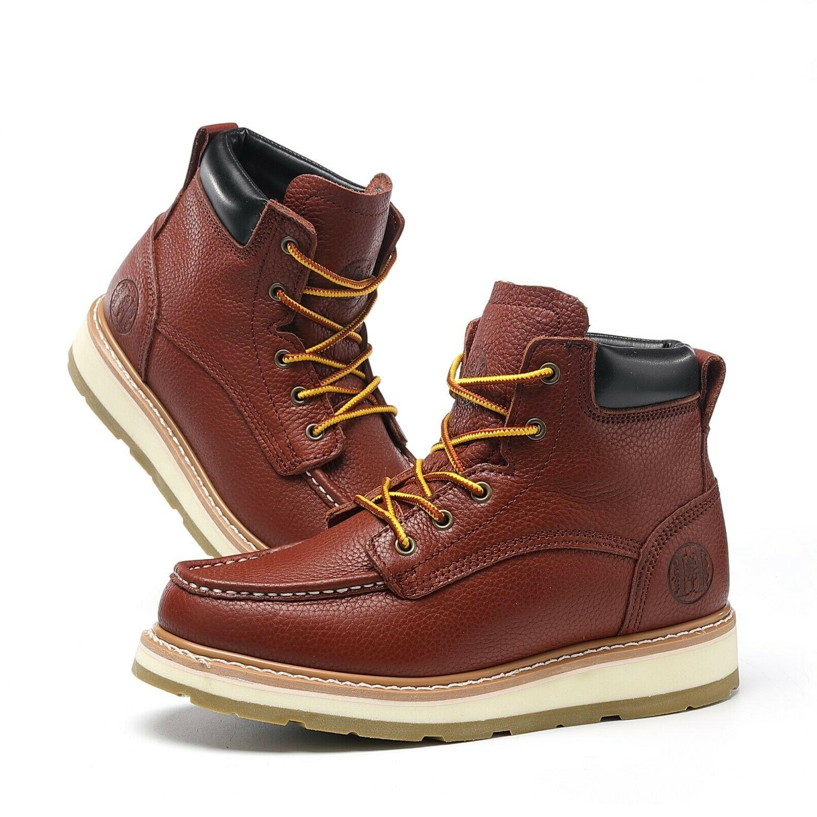 work boots for men soft toe safety