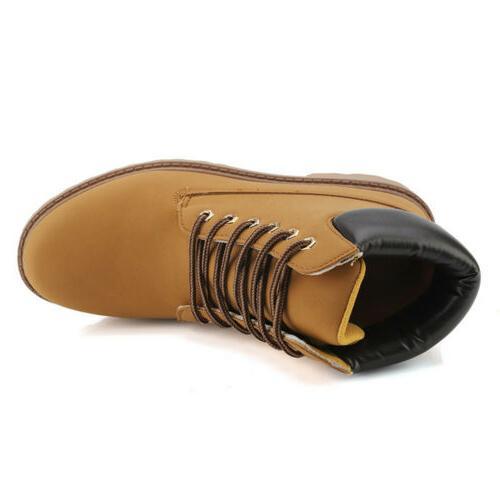Men's Waterproof Boots Lace Size