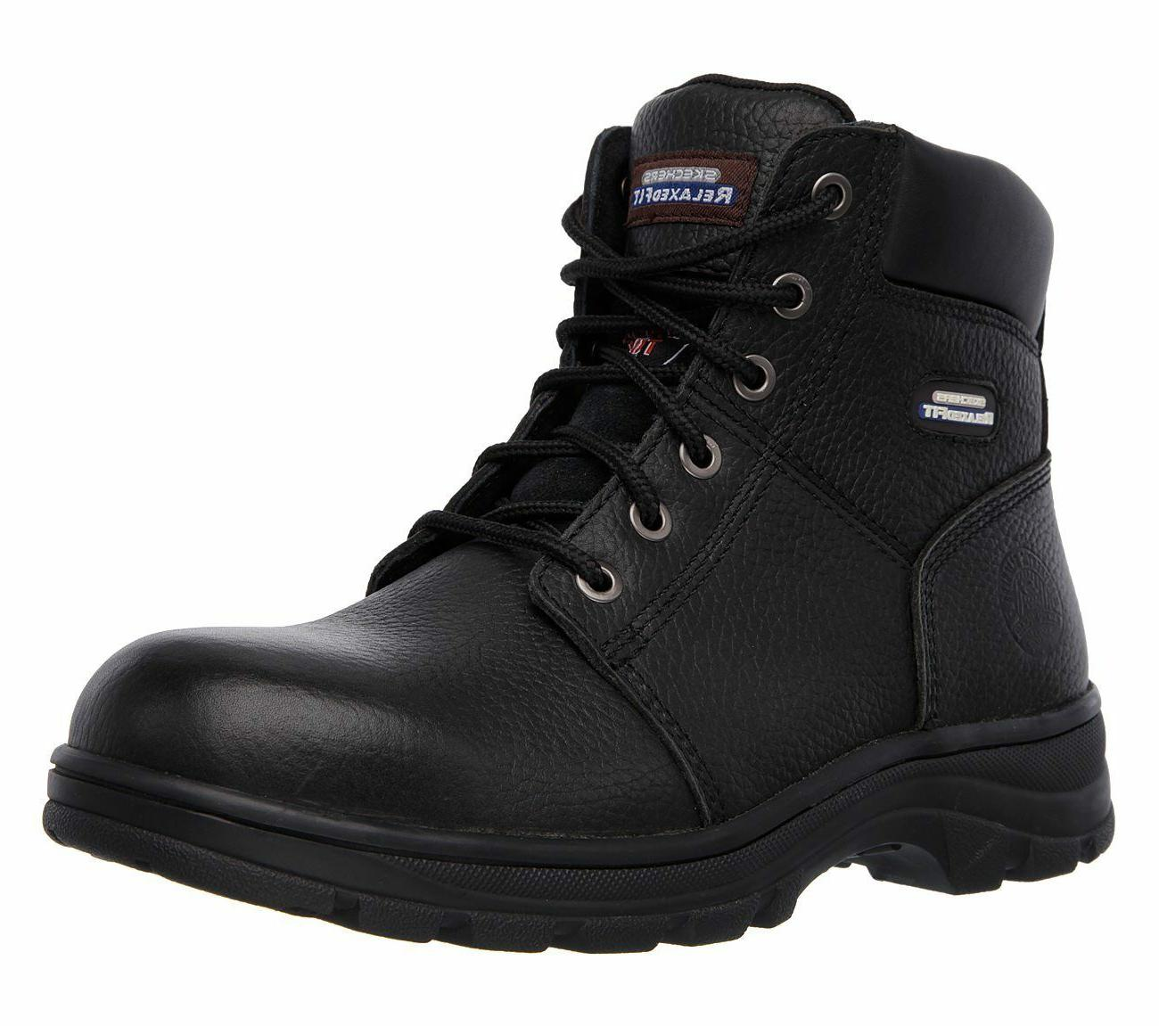 Skechers Work Relaxed Fit - Workshire ST Safety Boots Mens M