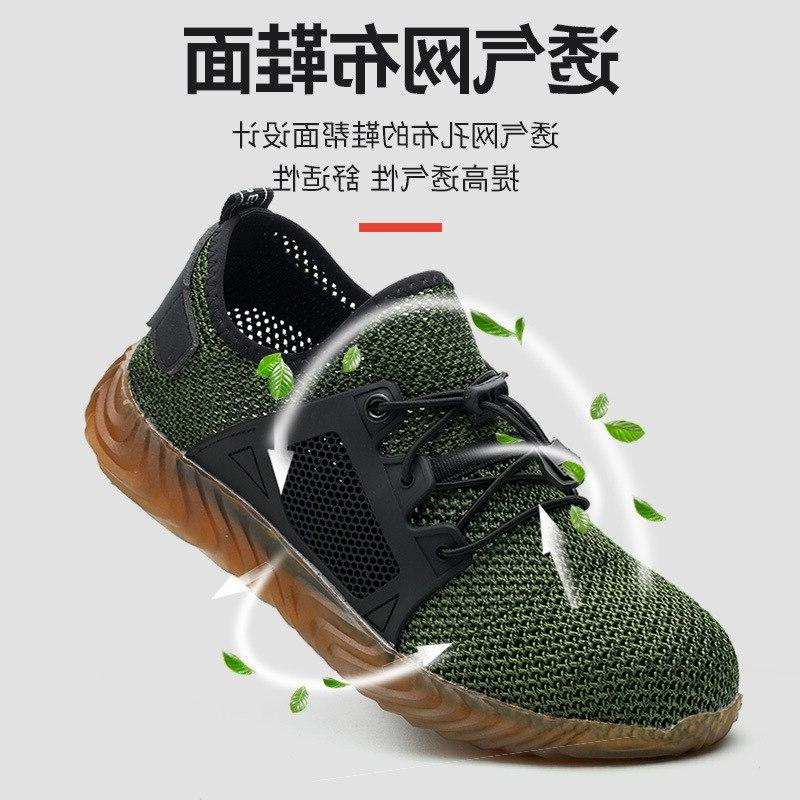 Work Safety Shoes Dropshipping Women <font><b>Boots</b></font> Indestructible Air Male Shoes 48