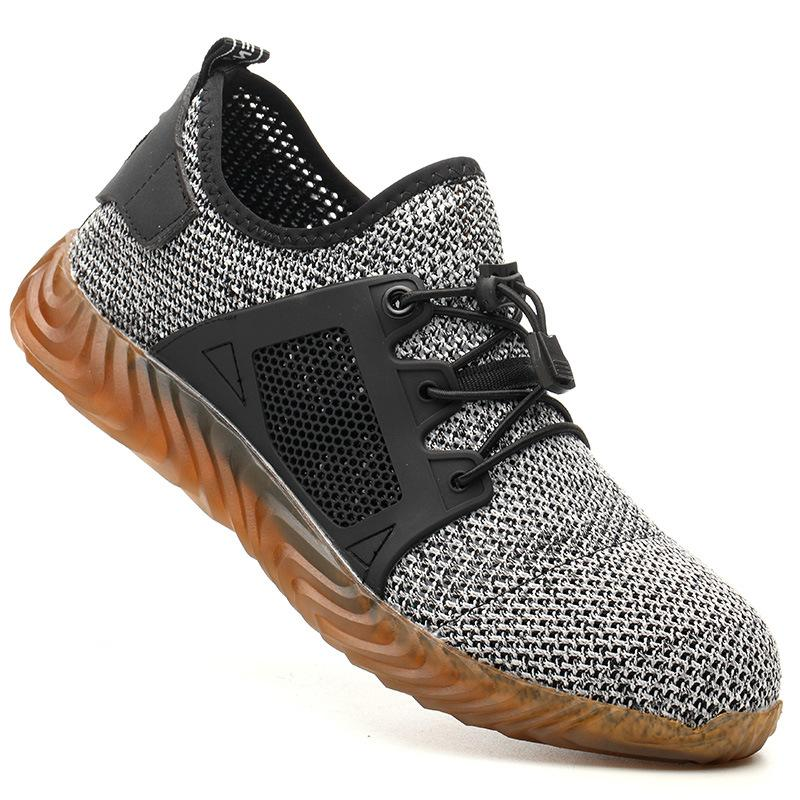 Work Safety With Steel Cap Dropshipping Women Indestructible Air Male Shoes