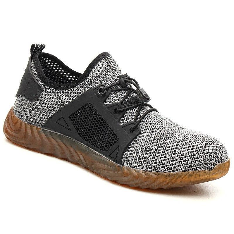 Work Steel Toe Cap Dropshipping Women <font><b>Men</b></font> Indestructible Male Shoes