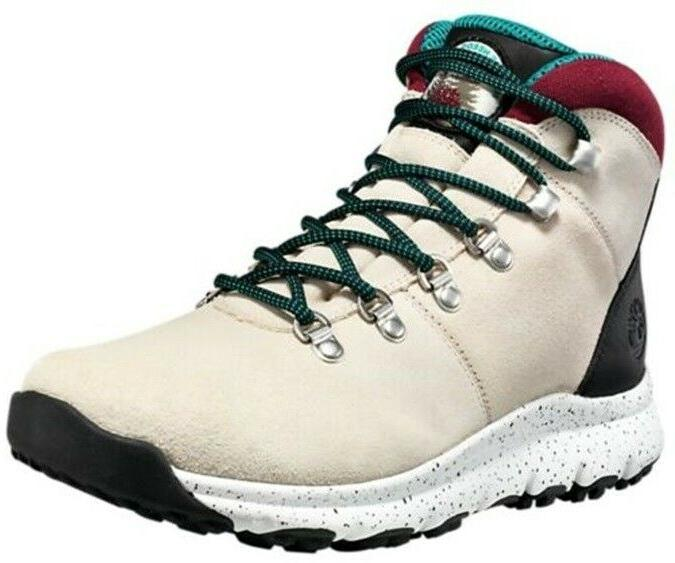 Timberland Mid Nature Boots White