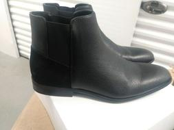 larry black mens size 9m tumbled leather