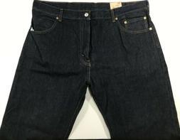 Levis 517 Boot Cut Jeans For Men's 40x34 Blue NWT