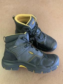 Keen Logandale   EU Men's WP Work Boots Black Nb38