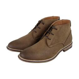 Steve Madden M-Groves Mens Brown Suede Casual Dress Lace Up