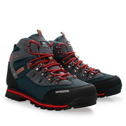 Man Skid Resistance Boots Hiking Waterproof Climbing Mountai